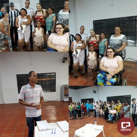 Chico Enfermeiro é o novo presidente da Associação de moradores da Vila Guaíra
