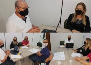 Chefia do NRE de Goioerê realiza reunião semanal com os diretores