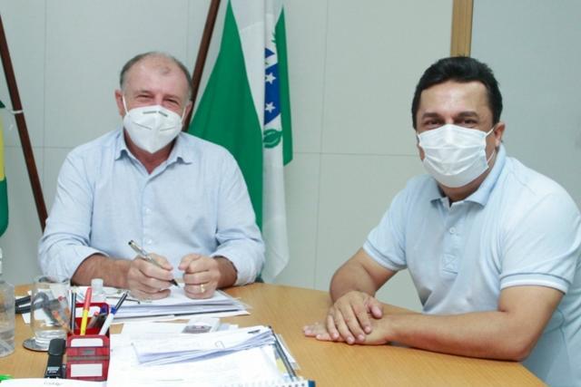 Betinho Lima apresentou demandas na Secretaria de Planejamento