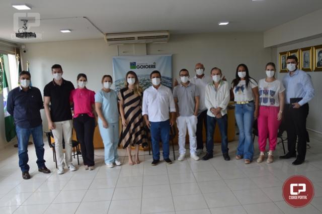Betinho Lima se reuniu com médicos das UBS de Goioerê
