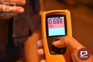Em apenas uma noite, PRF autua 56 motoristas bêbados no Paraná
