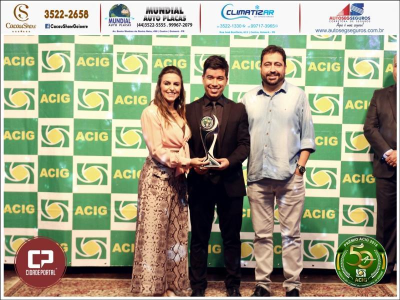 104 FM recebeu o prêmio de rádio mais ouvida no Melhores do Ano Acig 2018