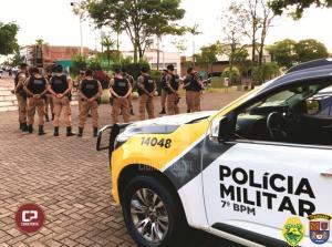 Polícia Militar lança operação e 7º BPM a realiza em Cruzeiro do Oeste e demais municípios de sua área