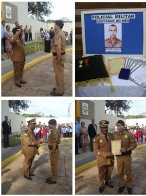 7° BPM realiza solenidade em homenagem ao Coronel Sarmento , Patrono da  Polícia Militar do Paraná