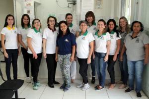 Servidores da Secretaria de Saúde recebem novos uniformes