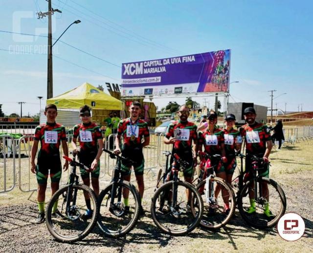 Ciclistas de Goioerê participaram do Ranking Noroeste XCM, etapa de Marialva