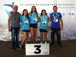 São José dos Pinhais e Guaratuba comemoram título inédito do vôlei de praia
