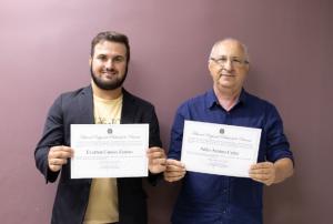 Professor Aristeu e Cássio Zanuto estão diplomados para gestão 2021/2024 em Rancho Alegre D`Oeste