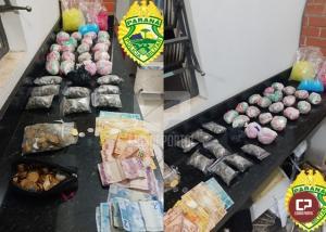 """Polícia Militar apreende maconha e cocaína em Londrina durante Operação """"Pronta Resposta"""""""