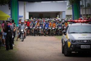 Equipe MTB de Goioerê Racing Team esteve presente no desafio ROCCA DE MTB