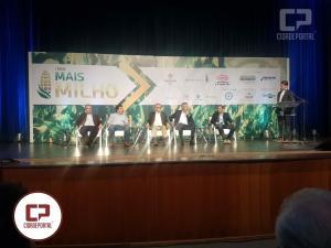 Marcio Bonesi participa do 4º Fórum Mais Milho que debateu mercado, clima, custos e tecnologias em Toledo