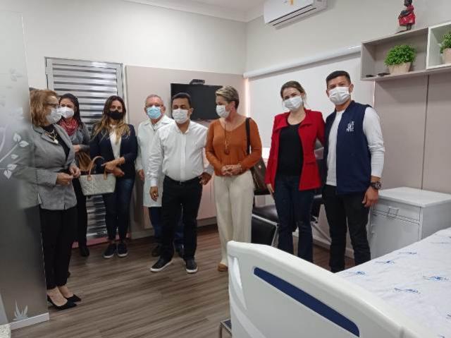 Prefeitura de Juranda e assessores realizaram visita técnica ao Hospital Santa Casa