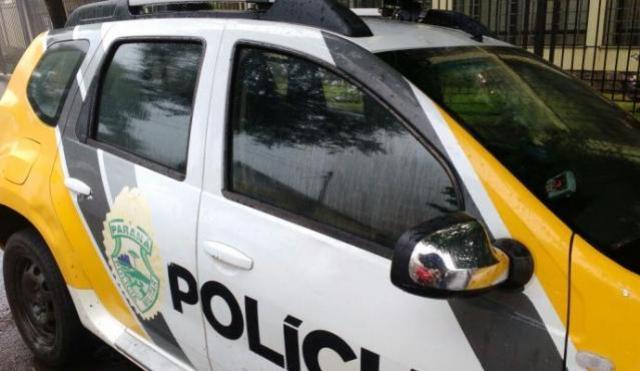Dois menores foram apreendidos pela Polícia Militar com uma motoneta adulterada