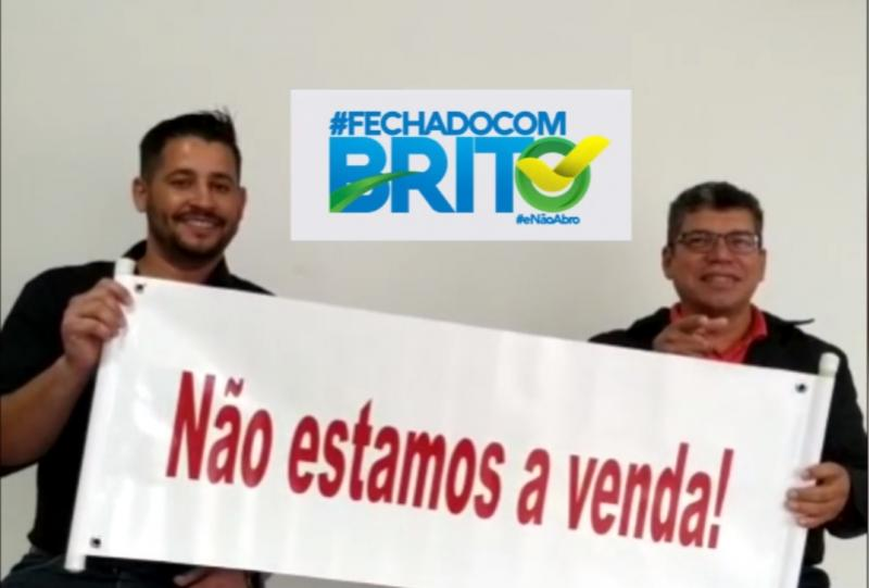 Adilson Brito afirma em vídeo que é pré-candidato a prefeito e seu vice será Abraão Isaac