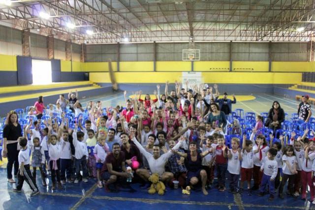 Goio Cultura recebeu o espetáculo Memória de Brinquedo da Curitiba Companhia de Dança