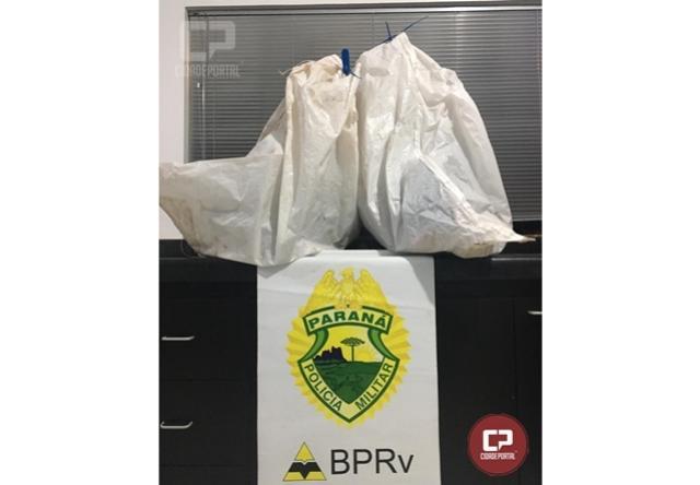PRE de Cruzeiro do Oeste apreende diversos eletrônicos durante Operação de Fiscalização