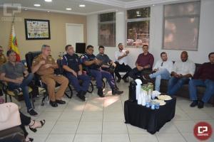 Polícia Militar e Civil se reúnem em Maringá para debater ações de Segurança Pública