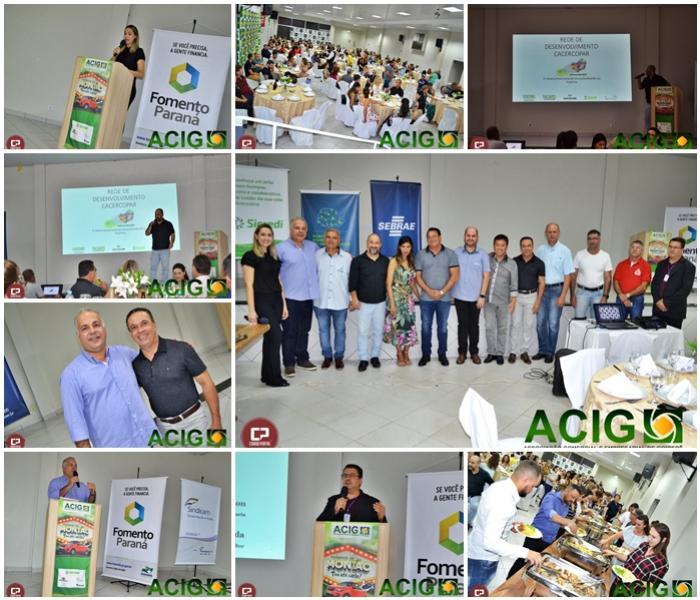 Empresários foram recepcionados na ACIG para um Jantar & Negócios