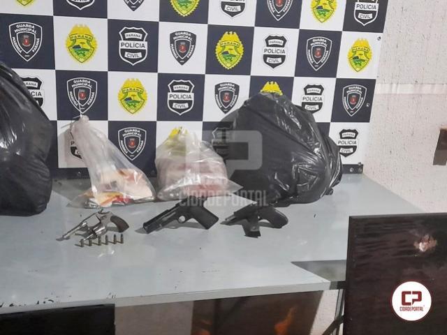 Criminosos armados entram em confronto com a Polícia Militar de Marialva após roubo