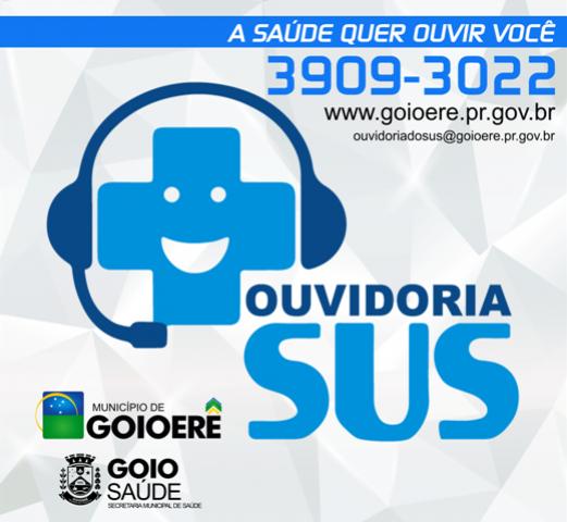OUVIDORIA SUS de Goioerê emite relatório das atividades do terceiro quadrimestre de 2017