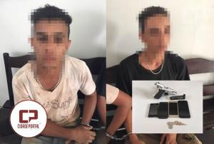 Polícias Militares de Janiópolis e Boa Esperança prendem mais dois acusados de assalto em Boa Esperança