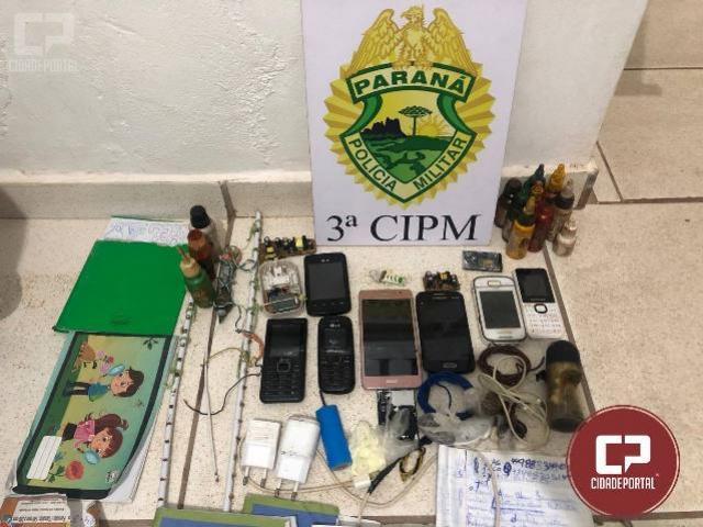 Polícia Militar da 3ª CIPM e 25º BPM prestam apoio em revista prisional na cadeia pública de Nova Londrina