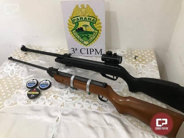 Polícia Militar da 3ª CIPM encaminha dois indivíduos por perturbação em Querência do Norte
