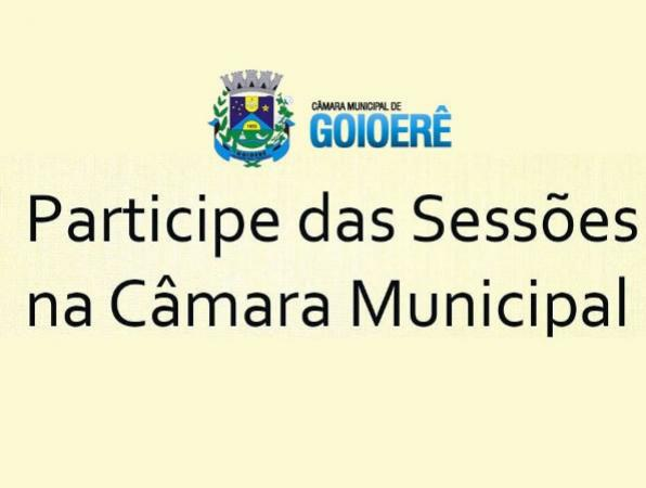 Indicações  e requerimentos  aprovados pelos vereadores de Goioer