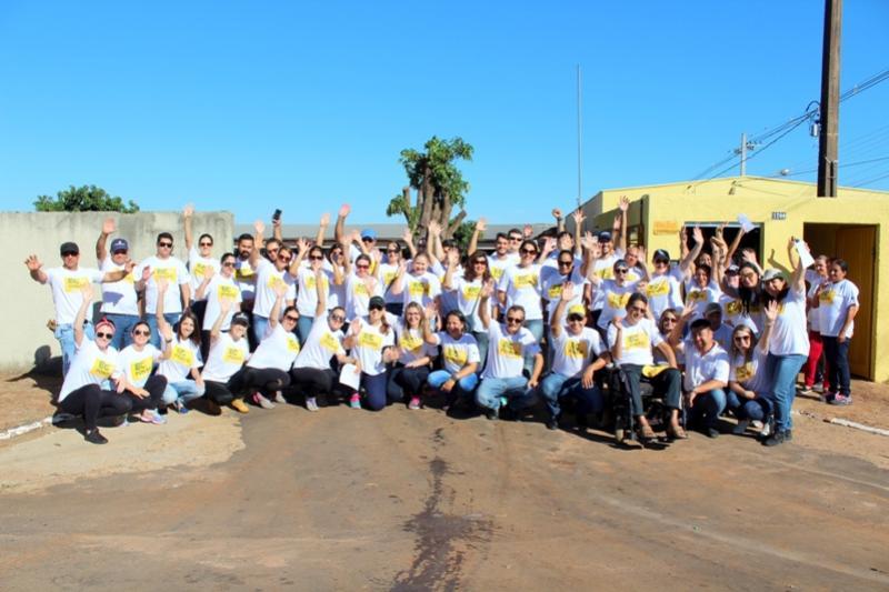 Prefeitura de Goioerê comemora o sucesso do ECOPONTO realizado no centro da cidade