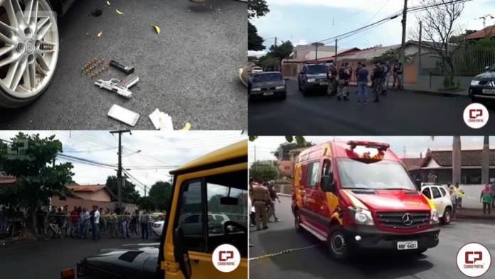 Dois homens entram em confronto com Policiais Militares na Zona Sul de Londrina