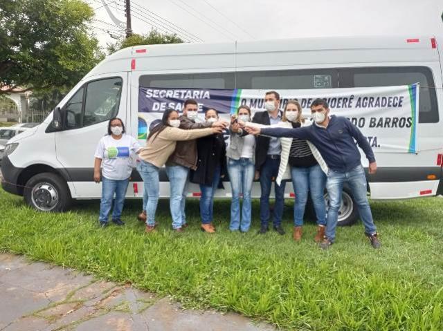 Goioerê recebeu Van para a Saúde