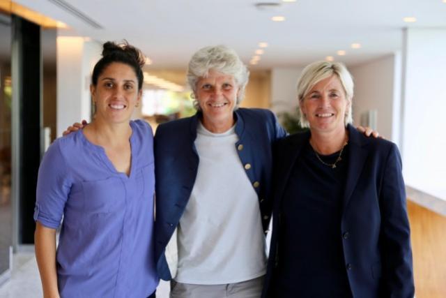 Sueca Lilie Persson será auxiliar técnica da Seleção Brasileira Feminina