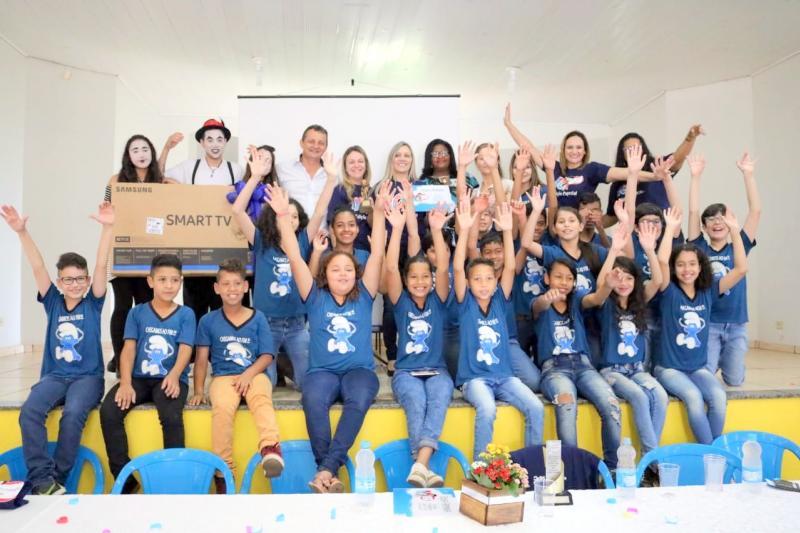 Projeto Televisando-RPC entrega premiação aos alunos e professores vencedores em Goioerê