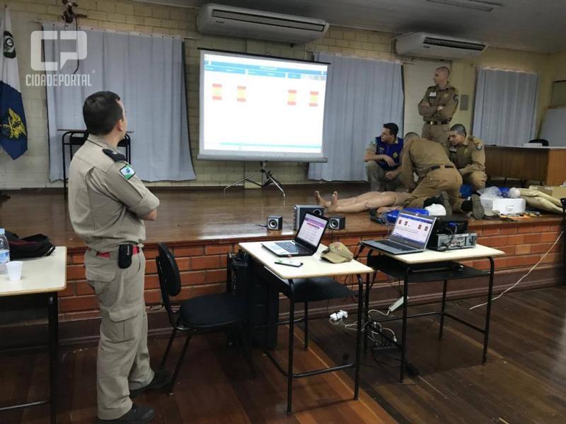 CPFron participa de instrução com efetivo do Corpo de Bombeiros de Marechal Cândido Rondon - PR