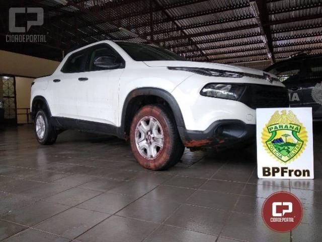 BPFron recupera veículo roubado na cidade de Guaíra - PR