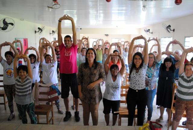 Assistência Social de Goioerê inicia atividades com o Grupo da Terceira Idade