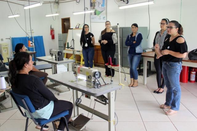 Assistência Social em parceria com a Incotur promovem curso de corte e costura
