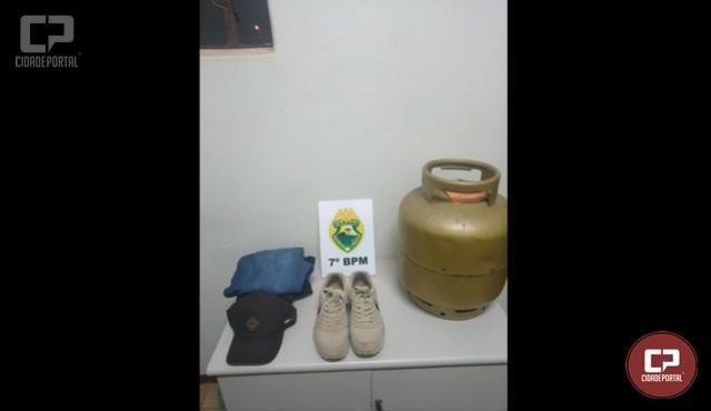 Polícia Militar age rápido e prende autor de furto em Cruzeiro do Oeste