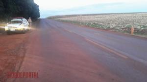 Acidente motociclístico entre Primavera e Juranda deixa jovem Goioerense em estado gravíssimo