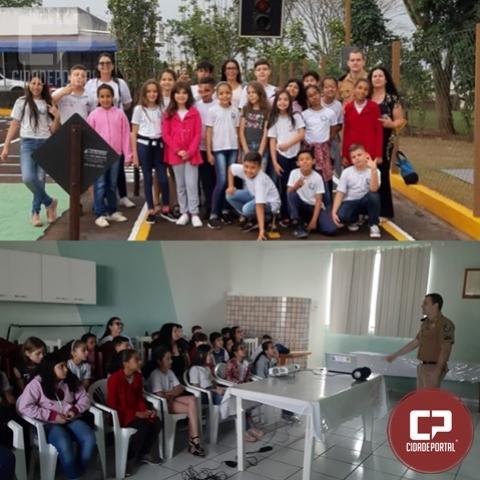 7º BPM realiza primeira aula do projeto Escotrans - Escola de Trânsito Infanto Juvenil