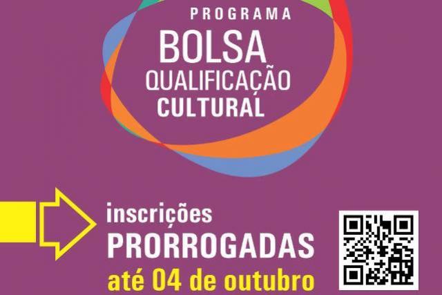 Edital do Programa Bolsa Qualificação Cultural ganha retificação. Confira as mudanças