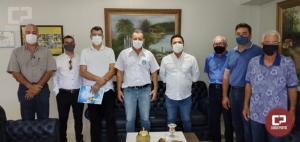 Prefeito Pedro Coelho recebe Betinho Lima e dá início oficial a transição de mandato
