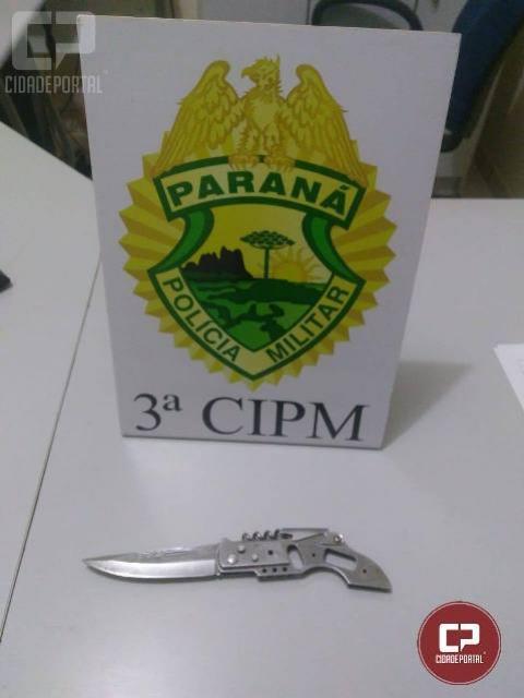 Polícia Militar da 3ª CIPM prende homem por ameaça e lesão corporal em Marilena