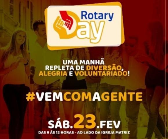 Rotary Day acontecerá neste sábado, 23, confira os serviços do evento!