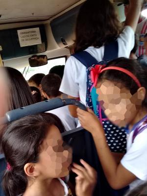 Promotoria de Goioerê recomenda que Município respeite o limite de passageiros transporte escolar