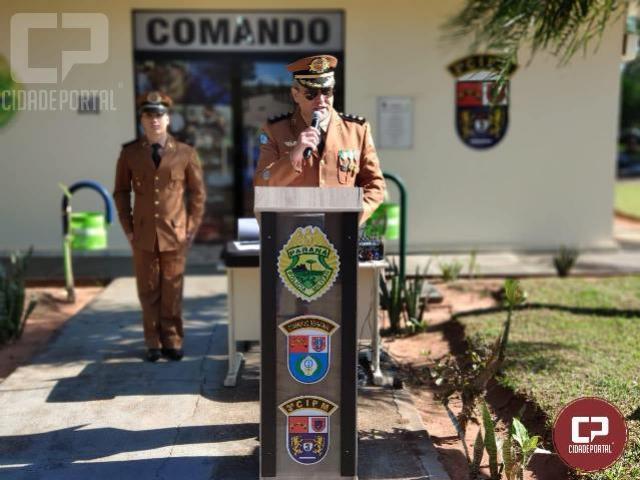 3ª CIPM realiza solenidade alusiva ao patrono da PMPR em Loanda