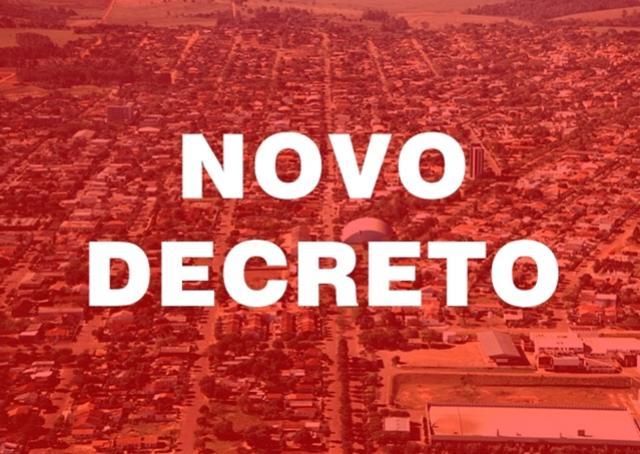 Prefeitura de Goioerê anuncia novo Decreto de enfrentamento ao Covid-19