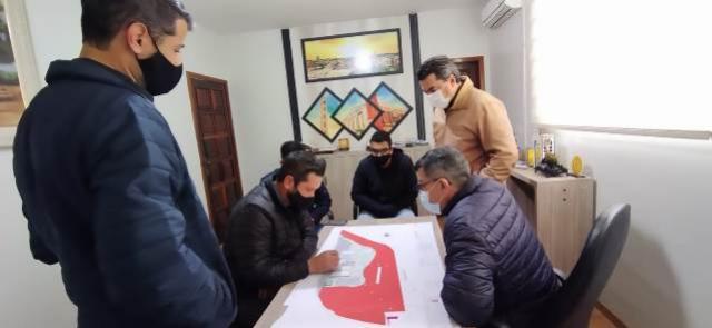 Técnicos da Prefeitura discutem projeto de implantação do Colégio Estadual Agrícola em Goioerê