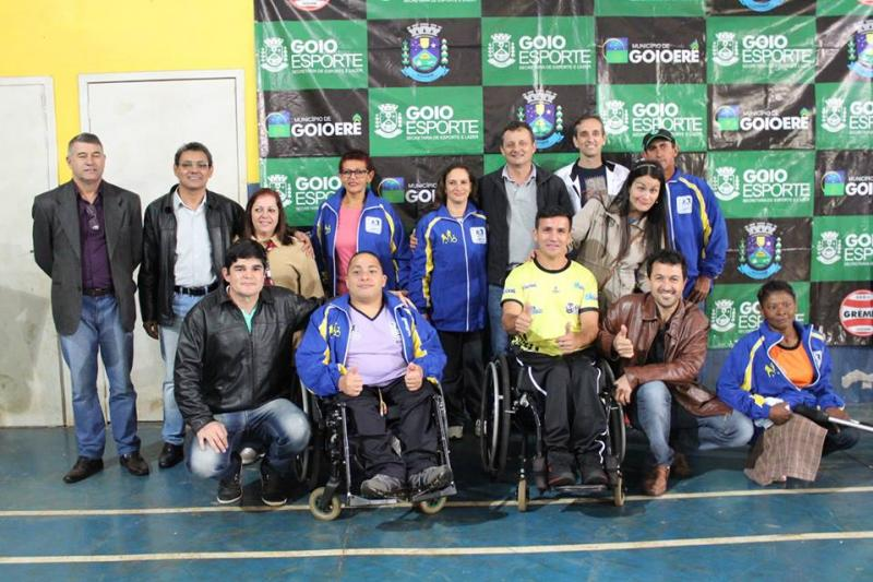 Equipe da AGODEF teve participação destacada nos Jogos Para-Desportivos realizado no fim de semana