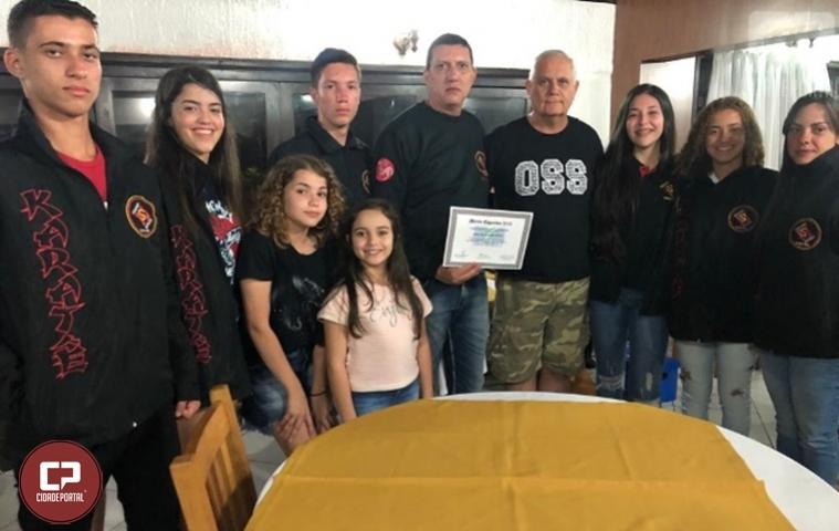 Academia Souza recebe certificado de Mérito Esportivo 2019
